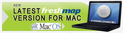Freshmap Smart Mapping System for Mac